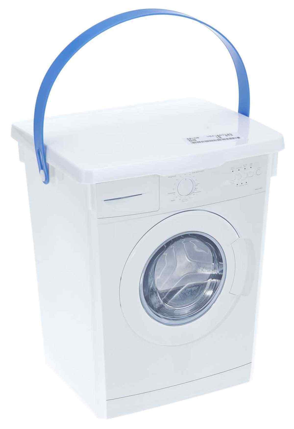 Plastic Laundry Dishwasher Washing Powder Tablet Detergent Storage