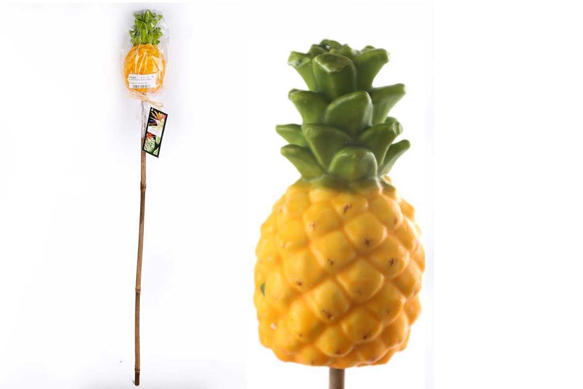 Real Wax Pineapple Candle Torch Garden Outdoor Light Party Lantern Burner