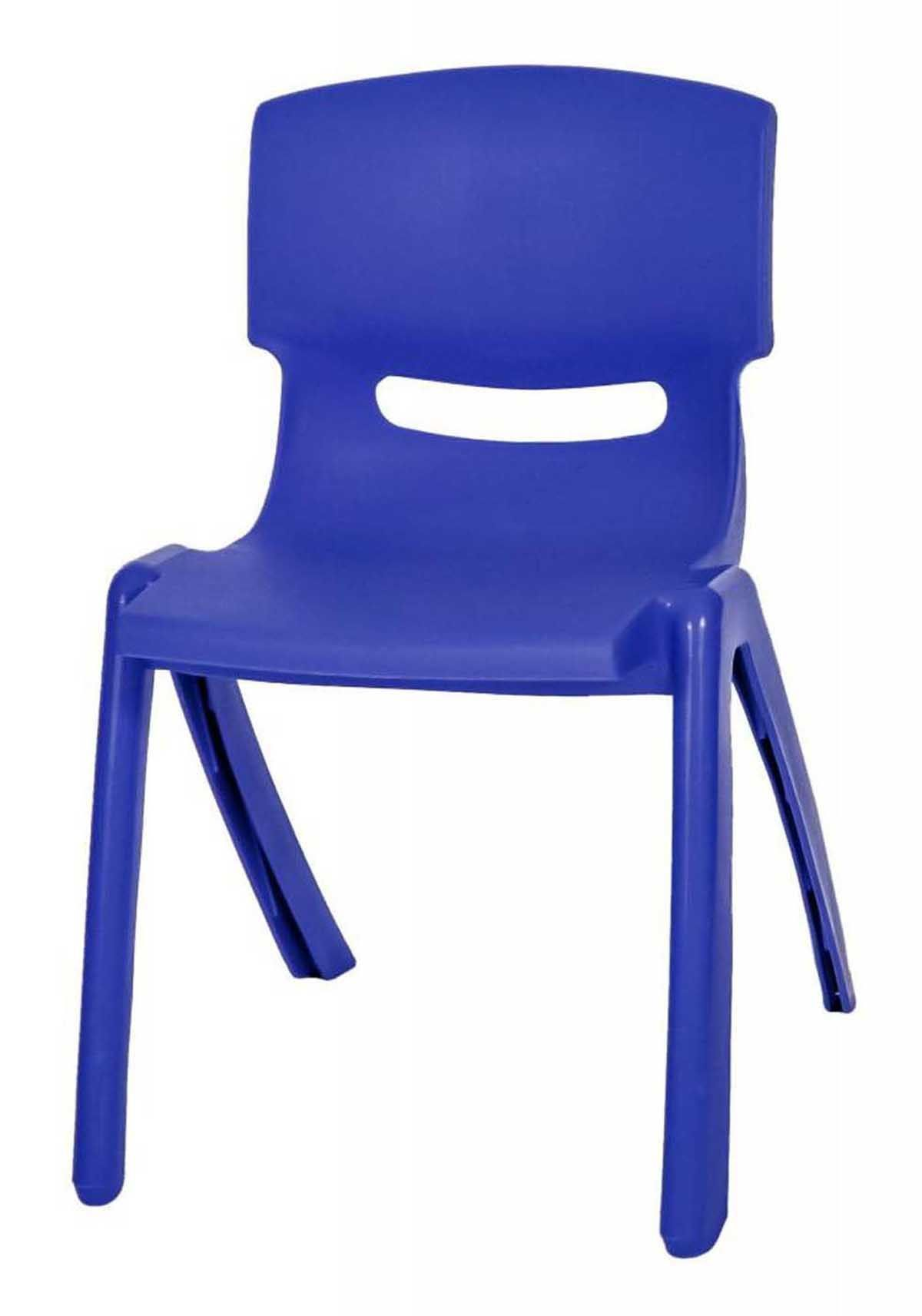 Set Of 10 Assorted Colours Stackable Kids Plastic Chair Picnic Party Up To  60kg