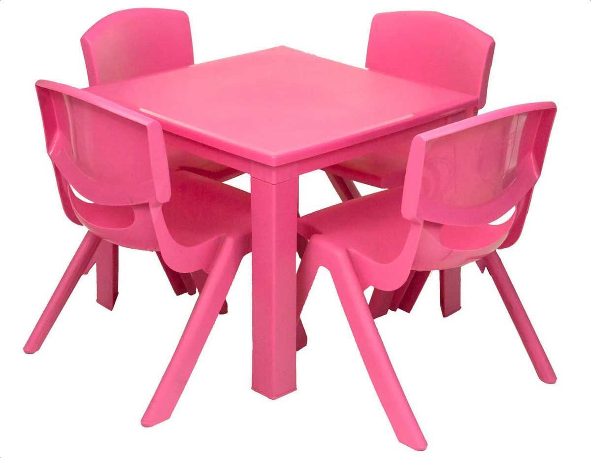 e2e Kids Children Plastic Home Garden Folding Table ...