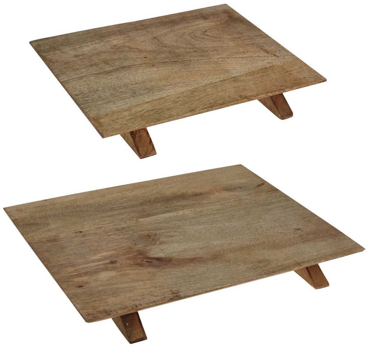 Mango Wood Wooden Cheese Meat Serving Display Board Platter